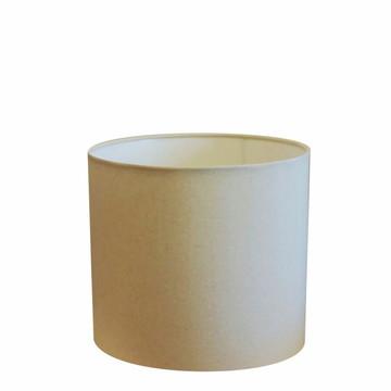 Cupula Tecido Cilindrico Abajur Cp-4143 35x25 Algodao Cru