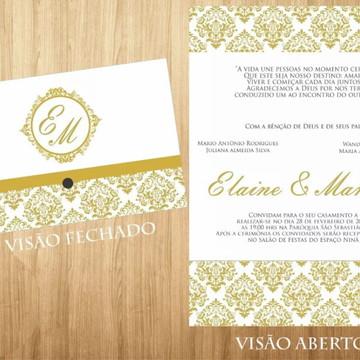 Convites De Casamento Aniversario Festa