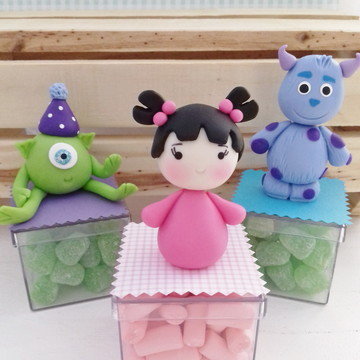 Lembrancinha Monstros S.A Cute (caixa)