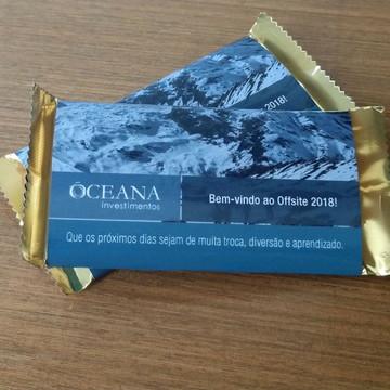 Chocolate brinde - Empresarial