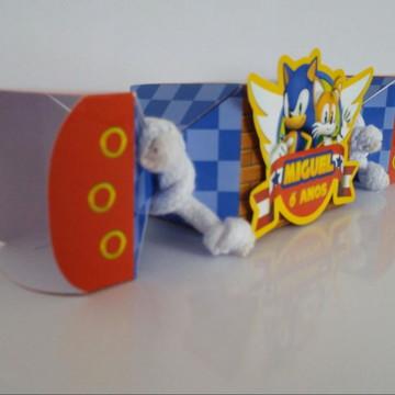 Caixa bala Sonic