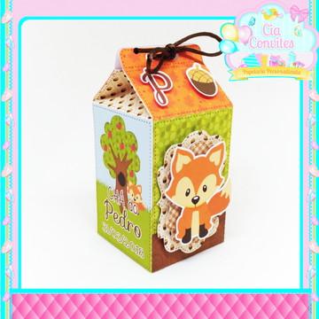 Caixa Milk Raposinha/Bosque
