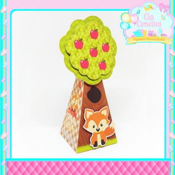 Caixa Árvore Raposinha/Bosque