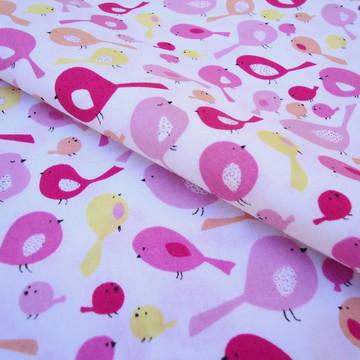 Tecido de Pássaros