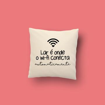 Capa Almofada Wi-fi