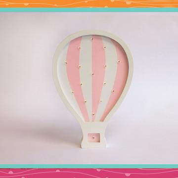 Balão rosa luminoso LED