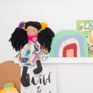 Boneca Menina - Linha Colore