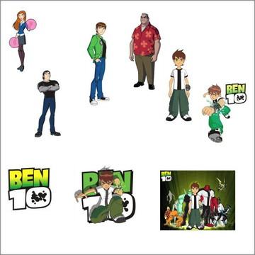 Vetores Ben10 CDR, EPS, Ai e PNG (50 Vetores CDR)