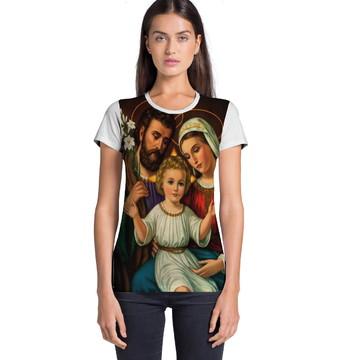 Camiseta Feminina Sagrada Familia