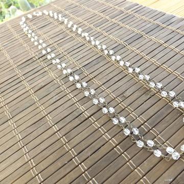 colar de cristais