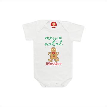 Body ou Camiseta Biscoito de Natal