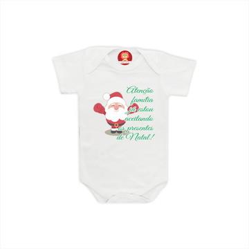 Body ou Camiseta Presentes de Natal