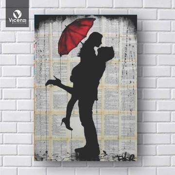 Placa Decorativa romantismo