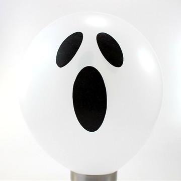 40 Unidades - Balão - Bexiga Fantasma do Halloween