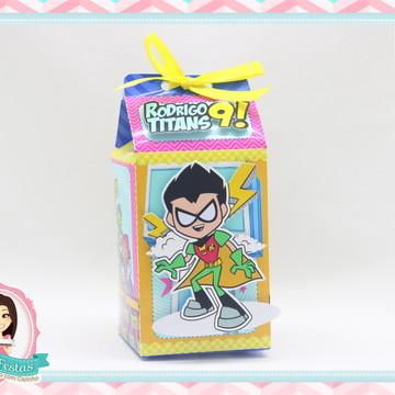 Caixa Milk Jovens Titãs