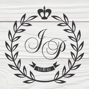 Monograma Brasão Casamento 04