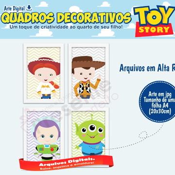 Quadros toy story para imprimir - Quarto Toy Story