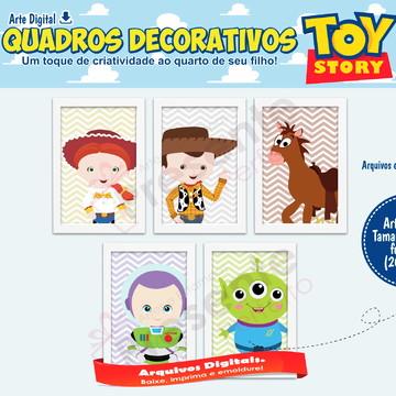 Quadros toy story