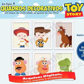 Quadros Toy Story Arte Digital