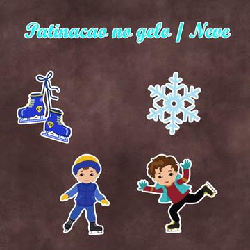 Recortes - Patinação no gelo / Neve