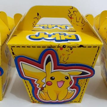 Caixa Sushi - Pikachu