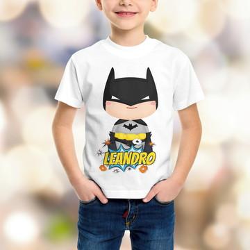 Camiseta Personalizada - Super Heróis
