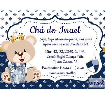 Convite Cha Chá de bebê