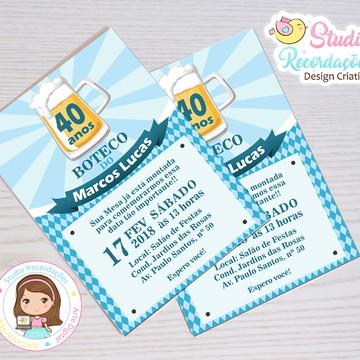 Convite Digital Boteco Londrina