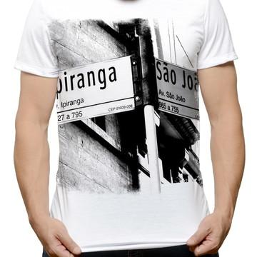 Camiseta Vista Ipiranga São Joao P&B