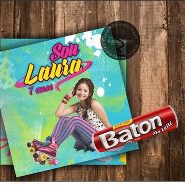 Adesivo para Baton Soy Luna