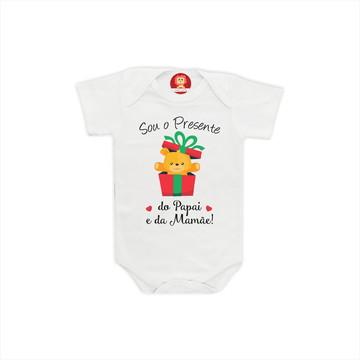 Body ou Camiseta Melhor Presente de Natal