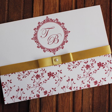 Marsala Convite Casamento Convite 15 anos dourado
