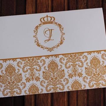 Convite 15 anos dourado promoção Convite Casamento