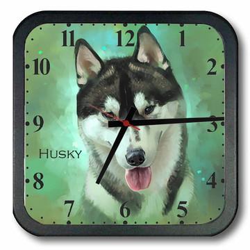 Relógio de Parede Husky Siberiano 1