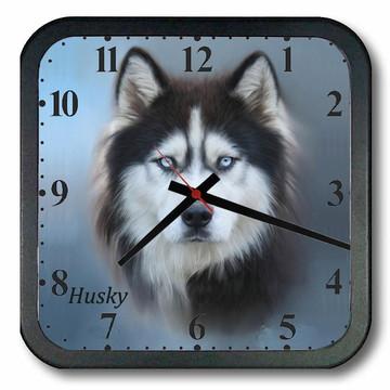 Relógio de Parede Husky Siberiano ´2