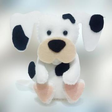 Cachorro Dalmata grande em Feltro