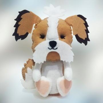 Cachorro Shih-tzu em grande Feltro