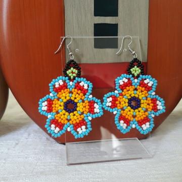 Brincos Flores