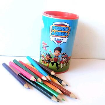 Kit Colorir com Cofrinho e Lápis de Cor