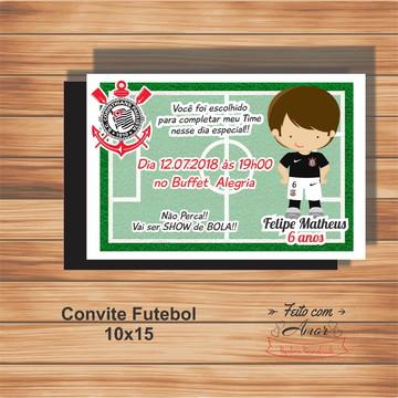 CONVITE FUTEBOL - 10 X 15
