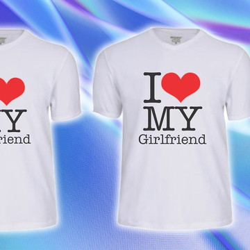 Camiseta I Love My Girlfriend | I love my boyfriend !!!