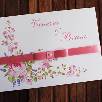Barato Convite Casamento floral campo Convite 15 anos
