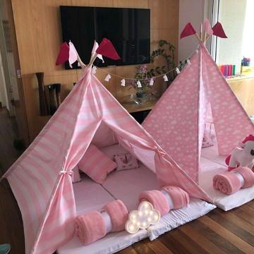 Festa cabanas 6 crianças