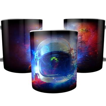 Caneca Astronauta Cosmos Poeira Estelar do Universo