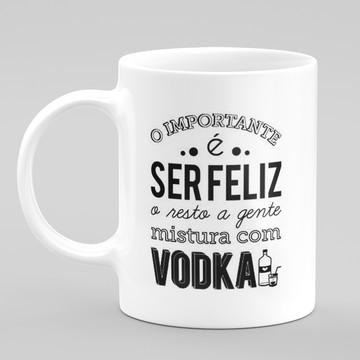 Caneca Engraçada Vodka