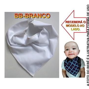 BABADOR BANDANA TECIDO COM FORRO IMPERMEAVEL TRIANGULAR