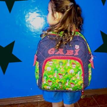 Mochila infantil menina personalizada - Promoção