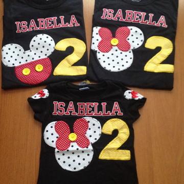 Camiseta Minnie (família)Adulto