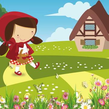 Painel de Festa Chapeuzinho Vermelho 4