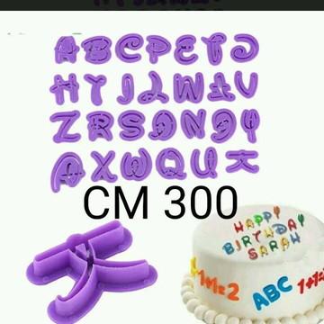 Kit de cortadores alfabeto
